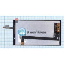 Модуль (матрица+тачскрин) HP Slate 6 VoiceTab 2 черный