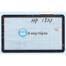 Сенсорное стекло (тачскрин) HP Pavilion 15N черное