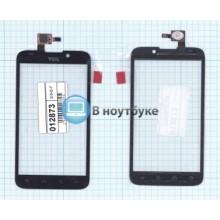 Сенсорное стекло (тачскрин) Alcatel OT-995 черное
