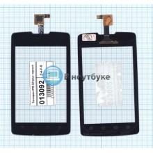 Сенсорное стекло (тачскрин) ZTE A21plus черный