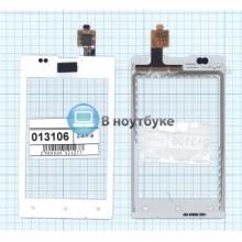 Сенсорное стекло (тачскрин) Sony Xperia E C1505 белый