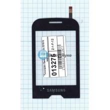Сенсорное стекло (тачскрин) Samsung Diva S7070 черный