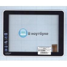 Сенсорное стекло (тачскрин) Explay Surfer 8.01 черный с рамкой