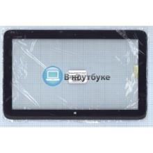Сенсорное стекло (тачскрин) HP Split x2 13 черный с рамкой