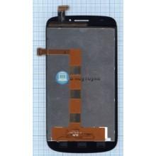 Модуль (матрица+тачскрин) Prestigio MultiPhone 5000 DUO черный
