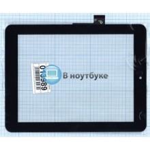 Сенсорное стекло (тачскрин) FPC-CTP-0800-014-1 черный