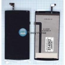 Модуль (матрица + тачскрин) Megafon Login+ черный