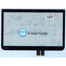Сенсорное стекло (тачскрин) Toshiba Satellite E45T-A U40T-A черный