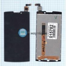 Модуль (матрица + тачскрин) Highscreen Boost 2 FPC 9267 черный