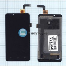 Модуль (матрица + тачскрин) Highscreen Omega Prime черный