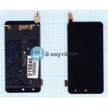 Модуль (матрица+тачскрин) Micromax Canvas Xpress E313 черный