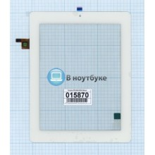Сенсорное стекло (тачскрин) FPC.0800-0238-C белое