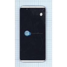 Модуль (матрица + тачскрин) Prestigio MultiPhone PAP7505 DUO черный с серебристой рамкой