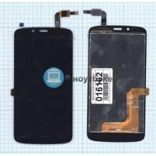 Модуль (матрица + тачскрин) Huawei Honor 3C Play черный
