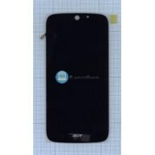 Модуль (матрица + тачскрин) Acer Jade Z черный
