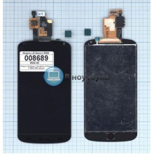 Модуль (матрица + тачскрин) LG Nexus 4  E960 OEM черный