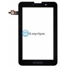 Сенсорное стекло (тачскрин) Lenovo IdeaTab A3000 черное