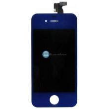 Модуль (матрица + тачскрин) Apple iPhone 4g синий без крепежа