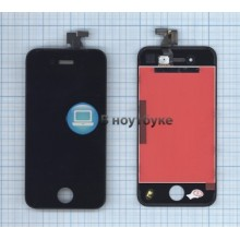 Модуль (матрица + тачскрин) Apple iPhone 4 Original черный