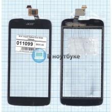 Сенсорное стекло (тачскрин) Acer Liquid Galland Duo E350 черный