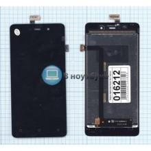 Модуль (матрица + тачскрин) Highscreen Power Four черный
