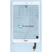Сенсорное стекло (тачскрин) Acer Iconia A1-830 белый