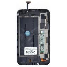 Модуль (матрица + тачскрин ) Samsung Galaxy Tab 3 7.0 SM-T211 с передней панелью белый