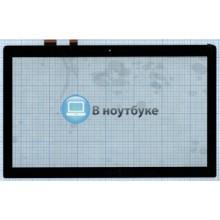 Сенсорное стекло (тачскрин) Asus N550 Q550 Q501 черный