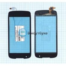 Сенсорное стекло (тачскрин) Fly IQ4405 Quad (EVO Chic 1) черный
