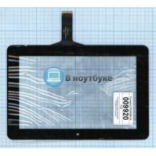 Сенсорное стекло (тачскрин) FPC659DR-04 черный
