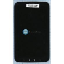 Модуль (матрица + тачскрин ) Samsung Galaxy Tab 3 7.0 SM-T211 с передней панелью Черный