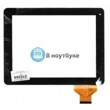 Сенсорное стекло (тачскрин) QSD E-C97001-01 черное