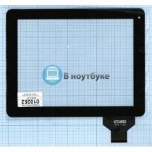 Сенсорное стекло (тачскрин) CTP-9.7''-001 черный