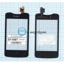 Сенсорное стекло (тачскрин) Acer Liquid Z3 черный