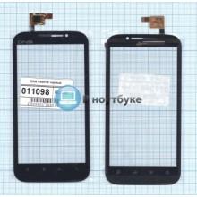 Сенсорное стекло (тачскрин) DNS S4501M черный