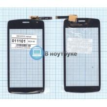 Сенсорное стекло (тачскрин) DNS S4701X черный