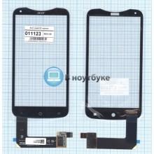 Сенсорное стекло (тачскрин) Acer Liquid S2 черный