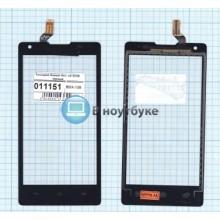 Сенсорное стекло (тачскрин) Huawei Ascend G700 черный