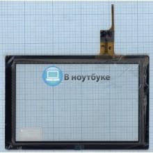 Сенсорное стекло (тачскрин) AD-C-100409-FPC черное