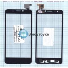 Сенсорное стекло (тачскрин) Alcatel OneTouch IDOL 6030D черный