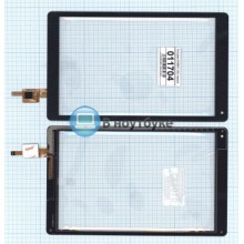 Сенсорное стекло (тачскрин) DY08017 (V2) черный