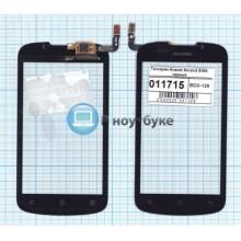 Сенсорное стекло (тачскрин) Huawei Ascend G300 черный