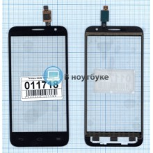 Сенсорное стекло (тачскрин) Alcatel Idol 2 Mini 6016 черный