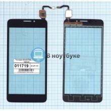 Сенсорное стекло (тачскрин) Alcatel OneTouch IDOL X 6040 черный