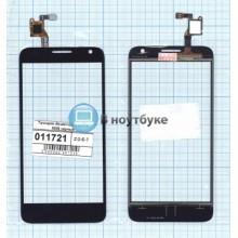 Сенсорное стекло (тачскрин) Alcatel One Touch Idol 2 mini S 6036 черный