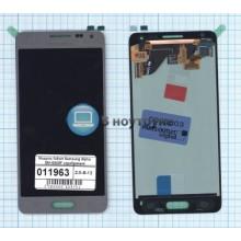 Модуль (матрица + тачскрин) full set Samsung Galaxy Alpha SM-G850F серебряный