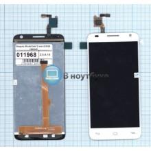 Модуль (матрица + тачскрин) Alcatel One Touch Idol 2 mini S 6036Y белый