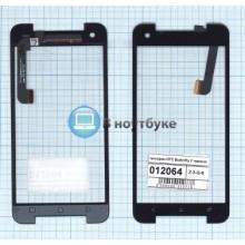 Сенсорное стекло (тачскрин) HTC Butterfly 2 черное