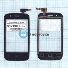 Сенсорное стекло (тачскрин) Explay N1 черный