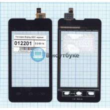Сенсорное стекло (тачскрин) Explay A351 черный